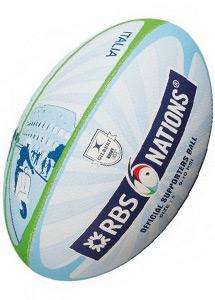 Ballon de rugby Supporter Tournoi des 6 nations RBS