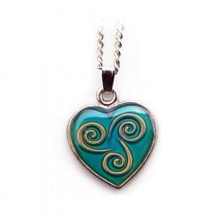 Celtic Magic Triskell Heart Pendant