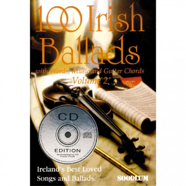 Irish Ballads CD + Booklet Volume 2