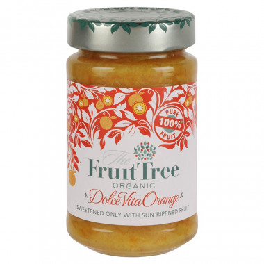Fruit Tree Organic Orange Spread 250g