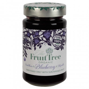 Fruit Tree Organic Blueberry Spread 250g