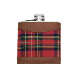 Red Tartan Flask 150ml
