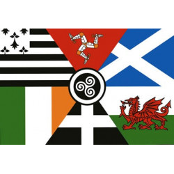 Celtic Nations Flag 100x150