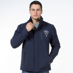 Ruckfield Navy Blue Softshell Jacket