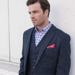 Brook Taverner Stranraer Harris Tweed Tiles Jacket