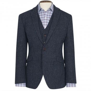 Brook Taverner Stranraer Harris Tweed Tiles Jacket