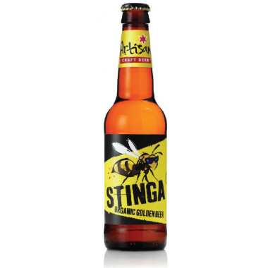 Artisan Craft Organic Stinga Beer 33cl 4.7°