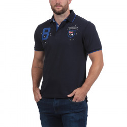 Ruckfield Navy Blue New Zealand Jersey Polo