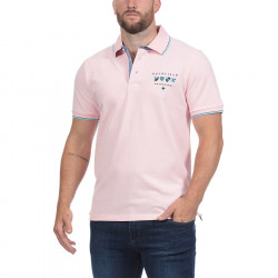 """Ruckfield """"We Are Rugby"""" Pink Jersey Polo Shirt"""