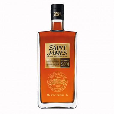 Saint James Millésime 2001 70cl 43°