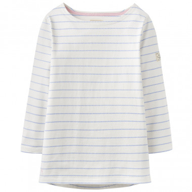 Tom Joule Sailor Striped with Small Dots Effect Top