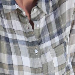 Khaki Checkered Shirt Out Of Ireland