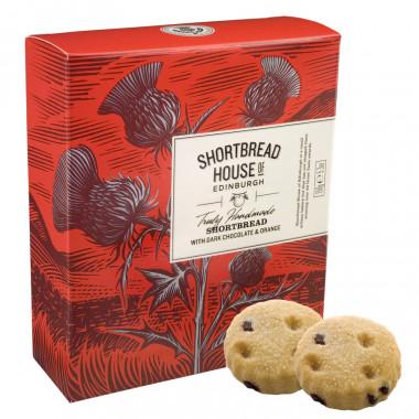 Shortbreads Chocolat & Orange Shortbread House 150g
