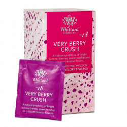 Whittard of Chelsea Very Berry Crush Fruit Infusion 20 Tea Bags 40g