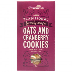 Grahams Cranberry Cookies 135g