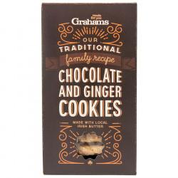 Choc & ginger cookies 135g grahams