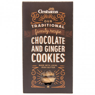 Chocolate & Ginger Cookies 135g Grahams