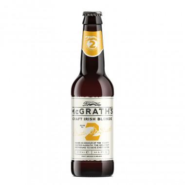 Mc Grath's Craft Irish Blonde Ale 33 cl 4.5°