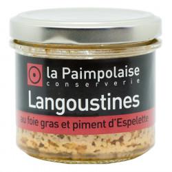 Tartinable Langoustines au Foie Gras La Paimpolaise 80g