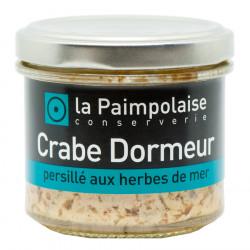 Tartinable Crabe Dormeur Persillé La Paimpolaise 80g