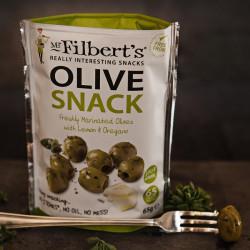 Olives Vertes Citron & Origan Mr Filbert's 65g