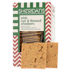 Crackers Rye and Linseed 140g