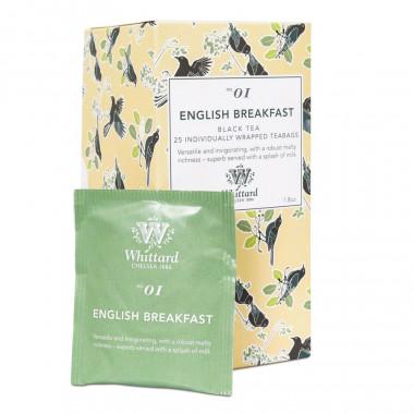 Thé English Breakfast Whittard 25 Sachets