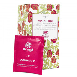 Whittard English Rose Black Tea 25 Tea Bags