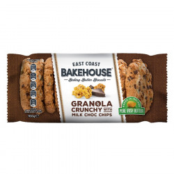 East Coast Bakehouse Granola Chocolate Chips Cookies 160g