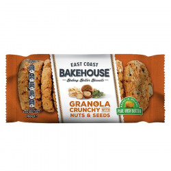 Cookies Granola Noisettes et Graines East Coast Bakehouse 160g