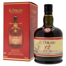 Rhum El Dorado 12 ans 70cl 40°