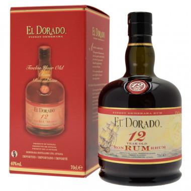 El Dorado Rum 12 ans 70cl 40°