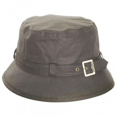 Barbour Kelso Olive Hat