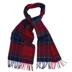 Echarpe Tartan Rouge Holden Barbour