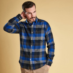Barbour Blue Check Shirt