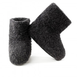 Chaussons Boots Anthracite Alwero