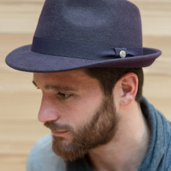Celtic Alliance Navy Wool Felt Hat