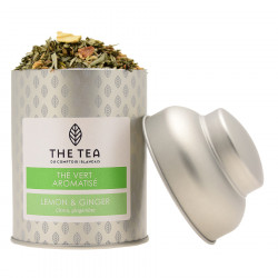 The Tea Lemon & Ginger Green Tea 100g