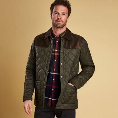 Barbour Gillock Quilt Sage Jacket