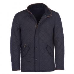 Barbour Navy Powel Quilt Jacket