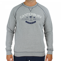 Sweat Haumi Gris Chiné Canterbury