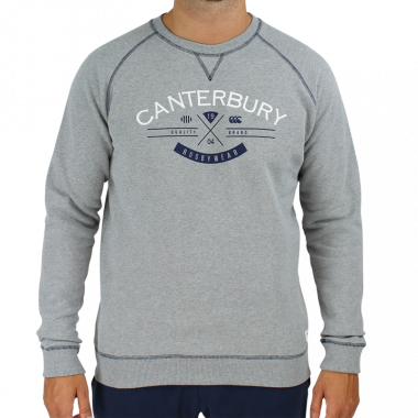 Sweat haumi gris chine cantebury