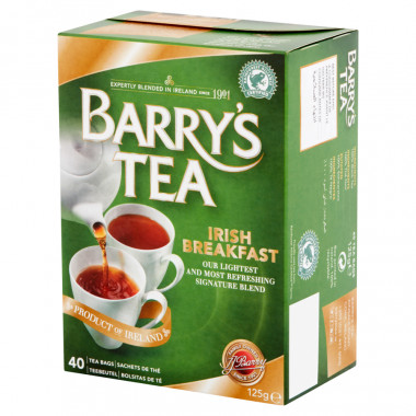 Barry's Tea Irish Breakfast 40 teabags 125g