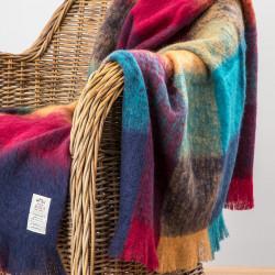 Plaid laine Mohair Brossé coloris Harriet