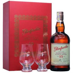 Glenfarclas 15 ans Box + 2 Glasses 70cl 46°