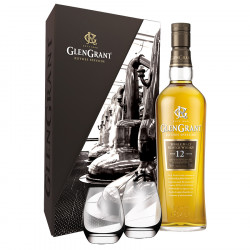 Glen Grant 12 Years Old Box + 2 Glasses 70cl 43°