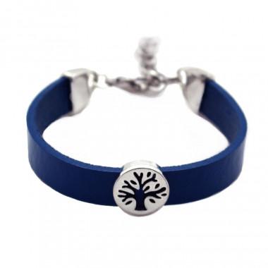Bracelet Fantaisie Tree Of Life Bleu