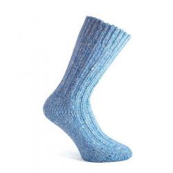 Chaussettes courtes bleu ciel donegal socks