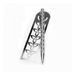Trinity Knot Bookmark & Pen