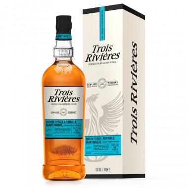 Trois Rivieres Rum Teeling Finish 70cl 43°